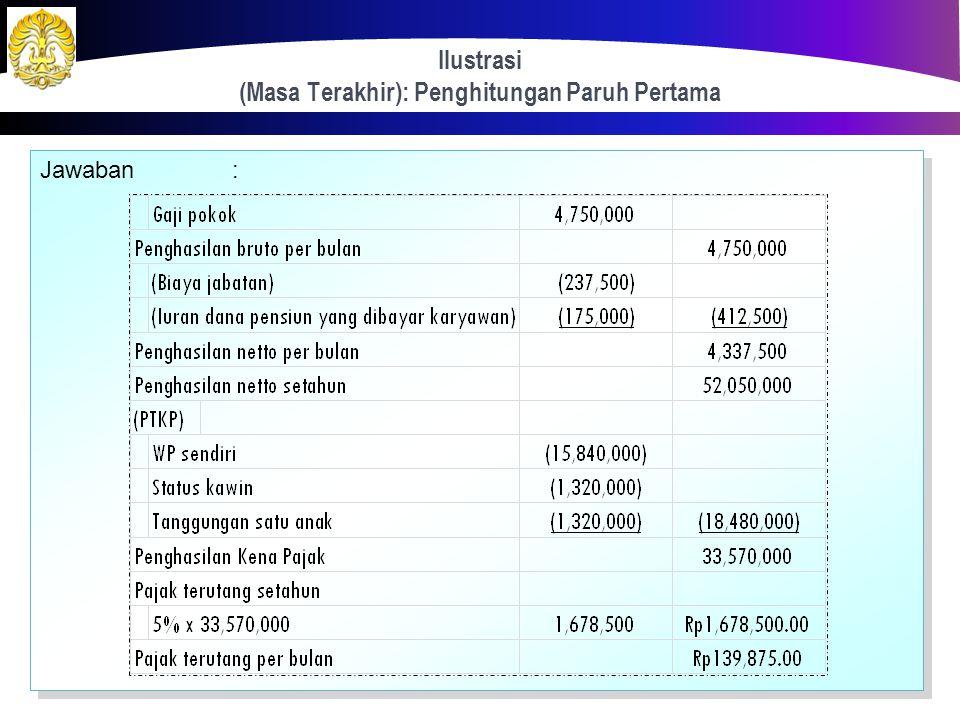 Ilustrasi (Masa Terakhir) 72 Senapati pada tahun 2012 bekerja sebagai seorang IT analyst pada sebuah perusahaan multinasional dengan memperoleh gaji s