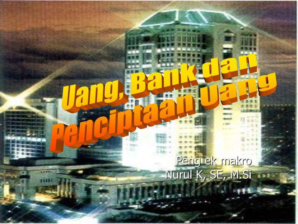 Peng ek makro Nurul K, SE, M.Si