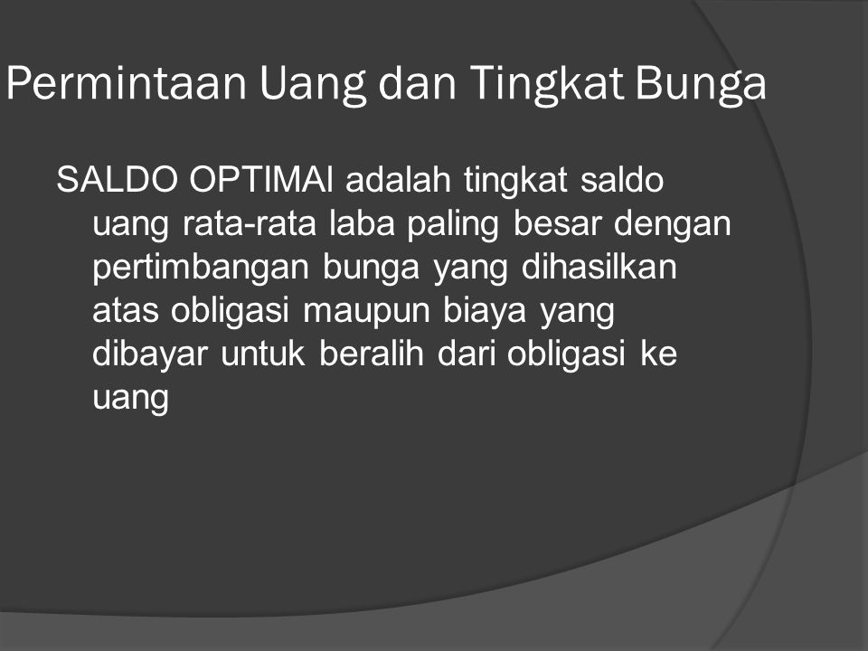 FIGURE 11.2 Jim's Monthly Checking Account Balances: Strategy 1 Manajemen Uang dan Saldo Optiman