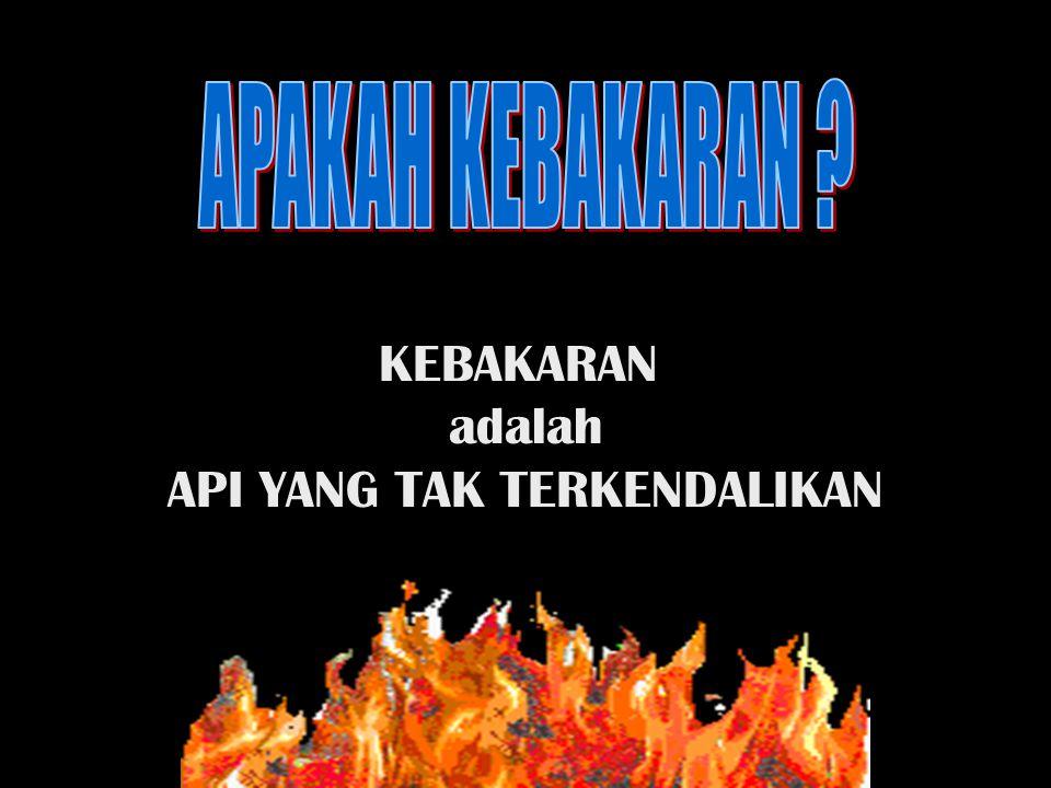 Hubungan api dengan bahan Padat Cair Gas Segi Tiga Api (Triangle of Combustion) + Fire Tetra Hedron Hal yang mendukung penyebaran api Jenis dan klasifikasi kebakaran