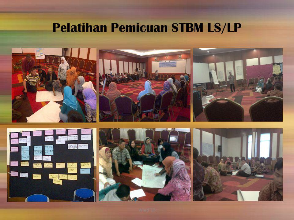 Pelatihan Pemicuan STBM LS/LP Wied