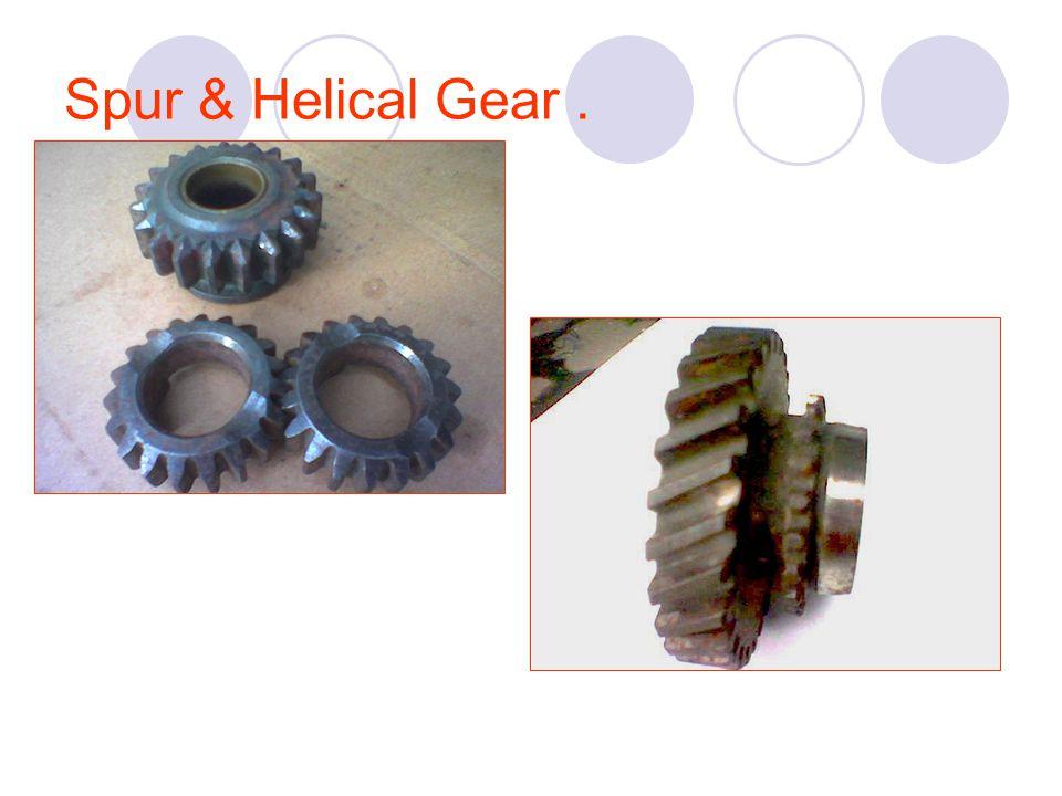 Spur & Helical Gear.