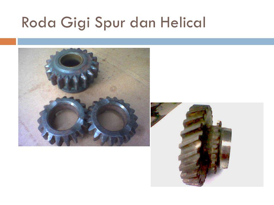 Roda Gigi Spur dan Helical