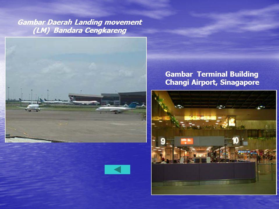 Gambar Daerah Landing movement (LM) Bandara Cengkareng Gambar Terminal Building Changi Airport, Sinagapore