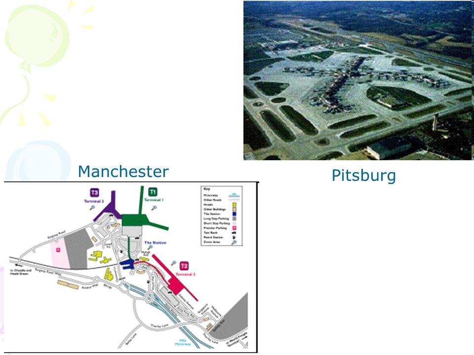 Dua tipe tampang melintang lapangan terbang Run wayShoulder