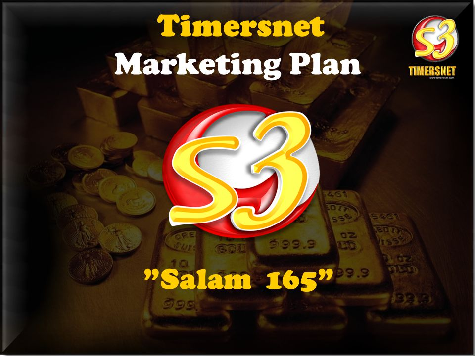 """Salam 165"" Timersnet Marketing Plan"