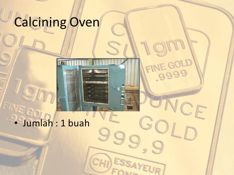 Calcining Oven Jumlah : 1 buah