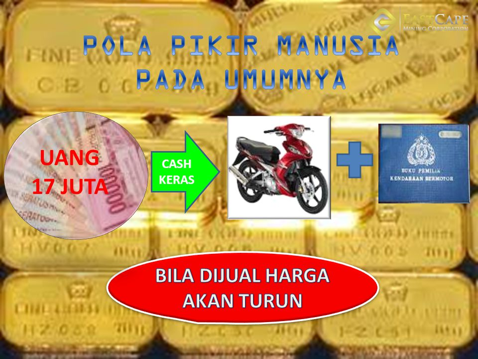 MERUBAH POLA PIKIR 17 JUTA 1 JT DP MOTOR LEBIHNYA 16 JUTA PENGUSAHA USAHA TANAM SAHAM DAPAT DEVIDEN TIAP BULAN RUTIN / PATENT