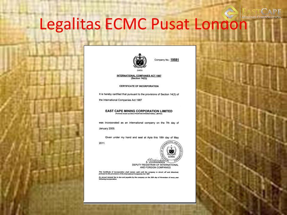 Legalitas ECMC Pusat London