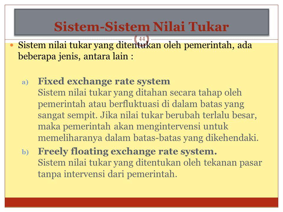 e. Ekspektasi Faktor kelima yang mempengaruhi nilai tukar valuta asing adalah ekspektasi atau nilai tukar di masa depan. Sama seperti pasar keuangan y