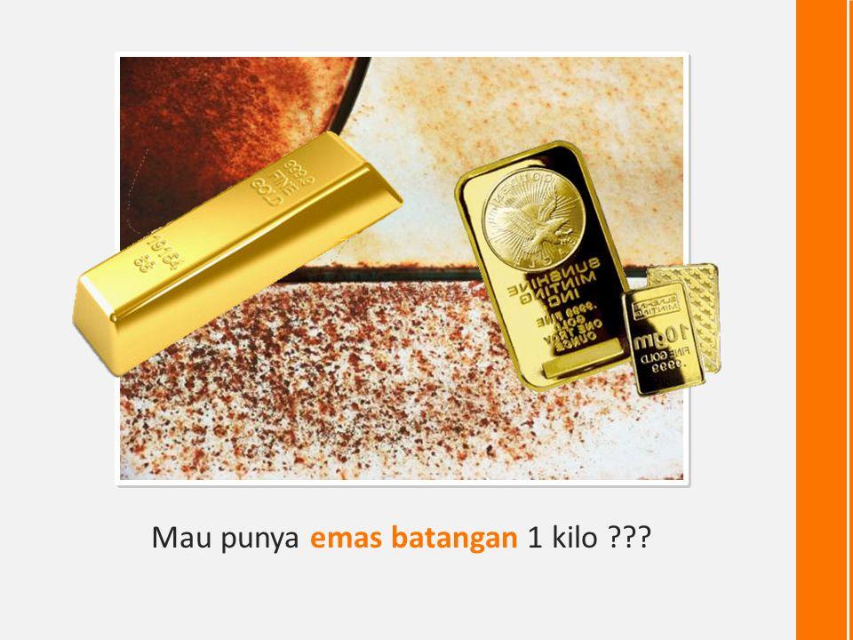 Grafik Harga Emas 15 Tahun 25.000 425.000 1700% 113% / tahun