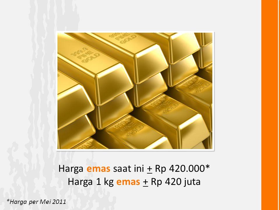 Mau punya emas batangan 1 kilo