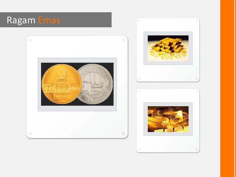 Beragam emas dalam kemasan Dinar Emas Ragam Emas