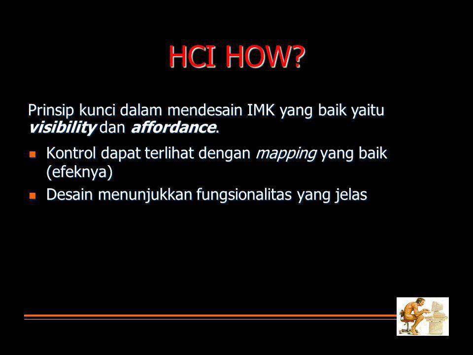 HCI How.