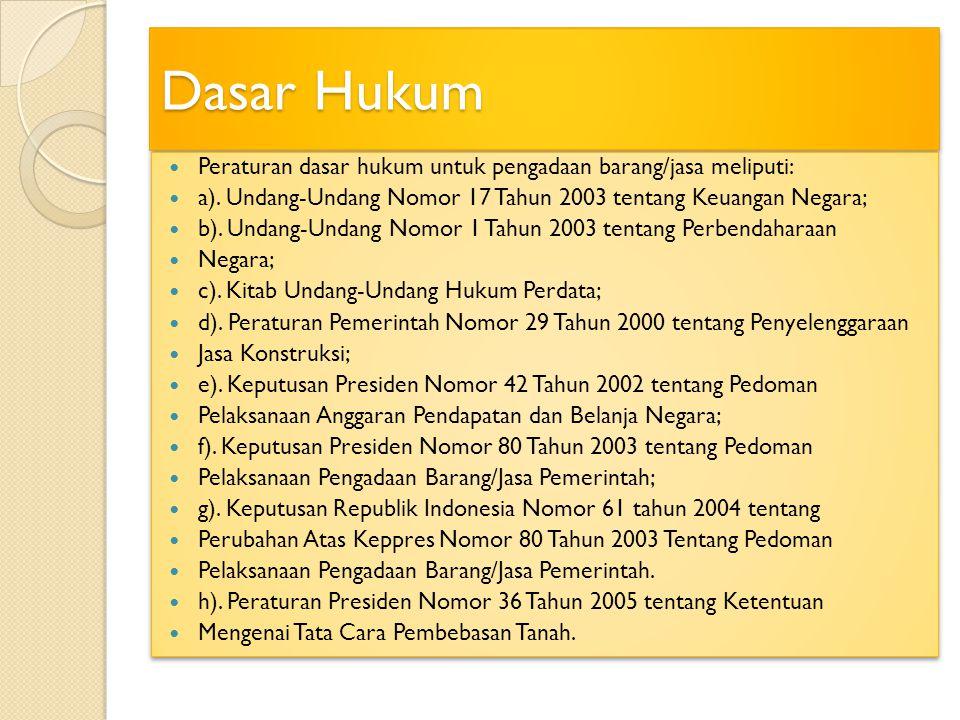 Harga Perkiraan Sendiri (HPS) 1).