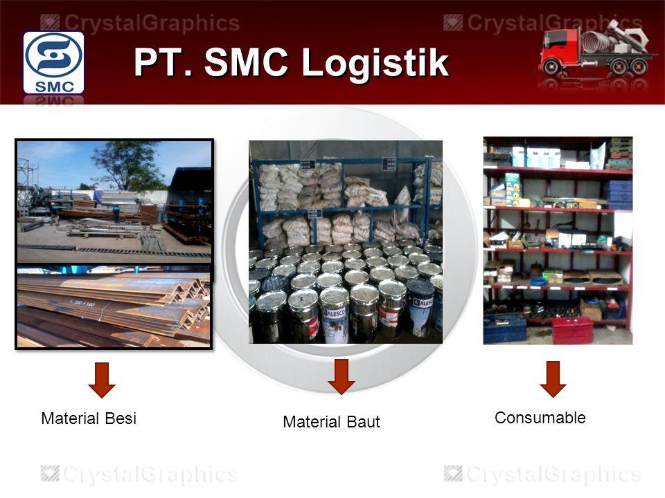 PT. SMC Logistik Material Besi Material Baut Consumable