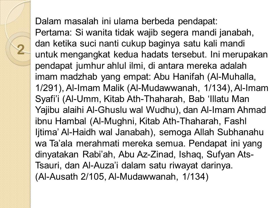 Makna maqbul (diterima riwayatnya) menurut Al-Hafizh adalah ia maqbul bila ada yang mengikutinya dalam periwayatan.
