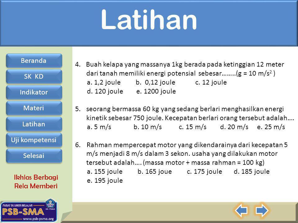 Ikhlas Berbagi Rela Memberi Latihan 4.