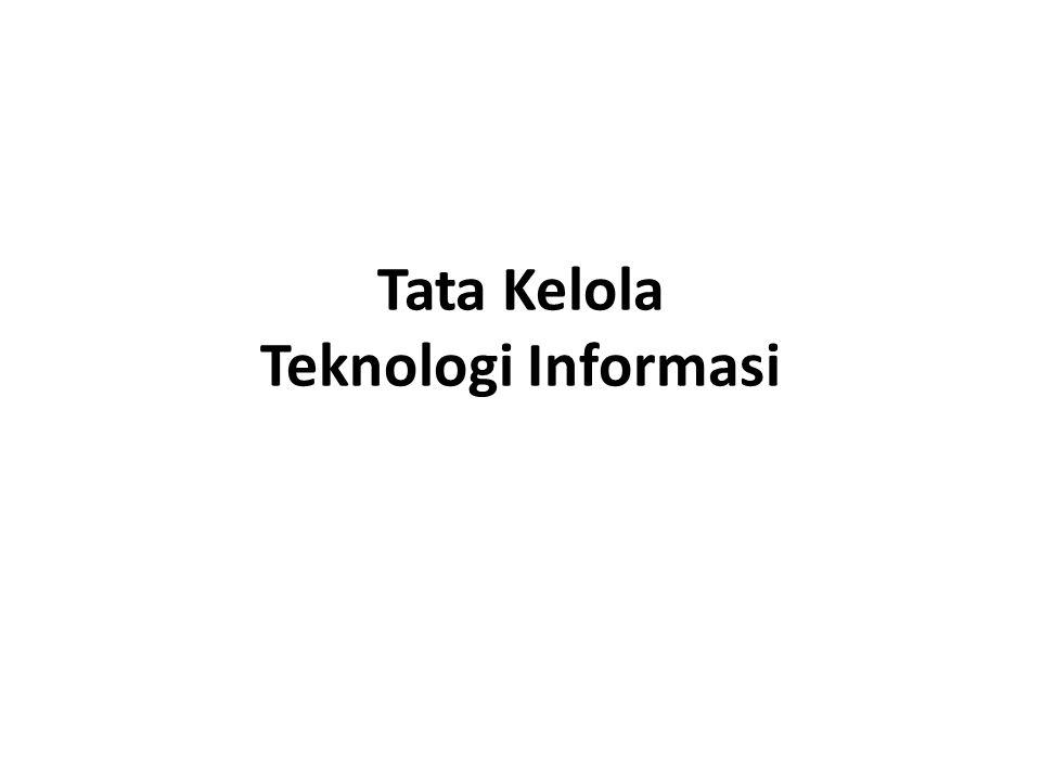 Tata Kelola Teknologi Informasi