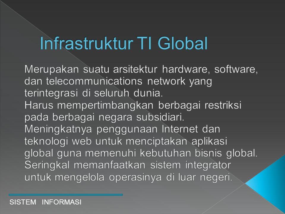 Issu utama adalah transborder data flow(TDF) dimana data bisnis mengalir menyeberangi batas- batas negara melalui jaringan telekomunikasi.