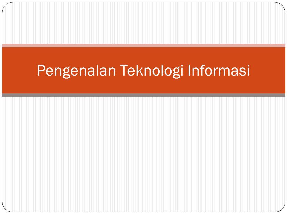 Pengertian Teknologi Informasi Istilah Teknologi Informasi juga di sebut TI, IT, (information technology) atau infotech.