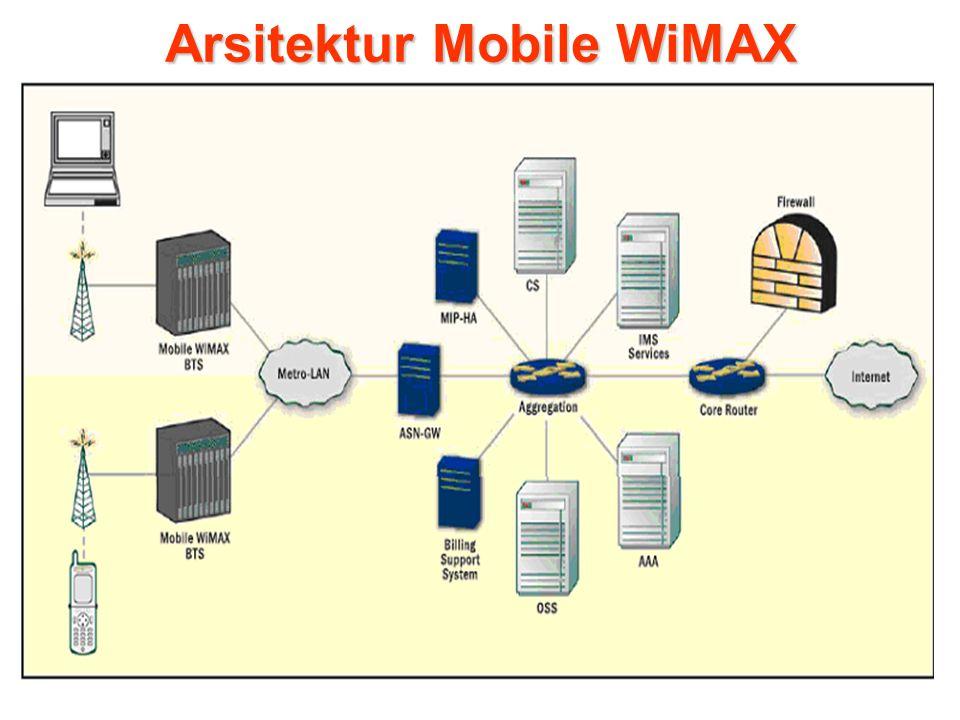 Arsitektur Mobile WiMAX
