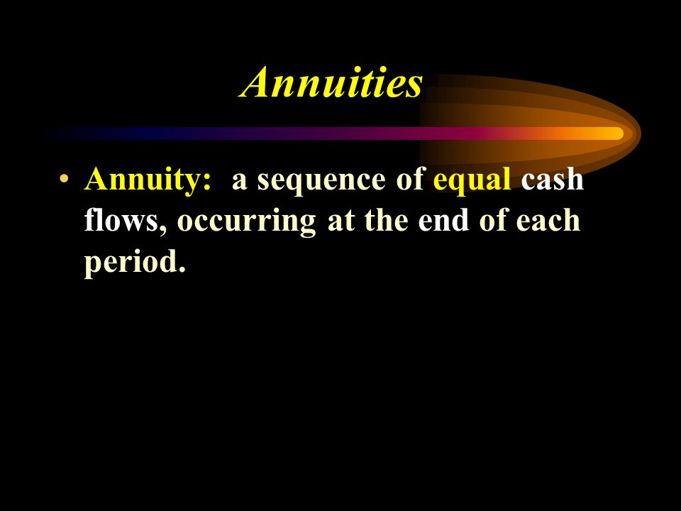 The Time Value of Money Compounding and Discounting Cash Flow Streams 01 234