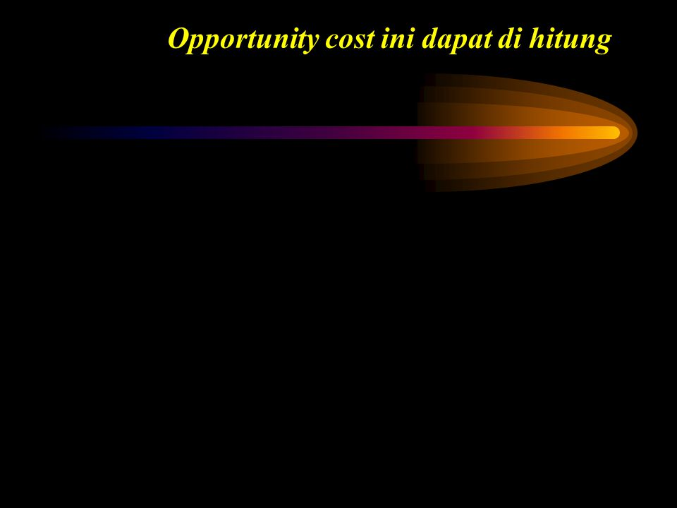 \ Future Value – Pembayaran Tunggal Kita menyimpan Rp.