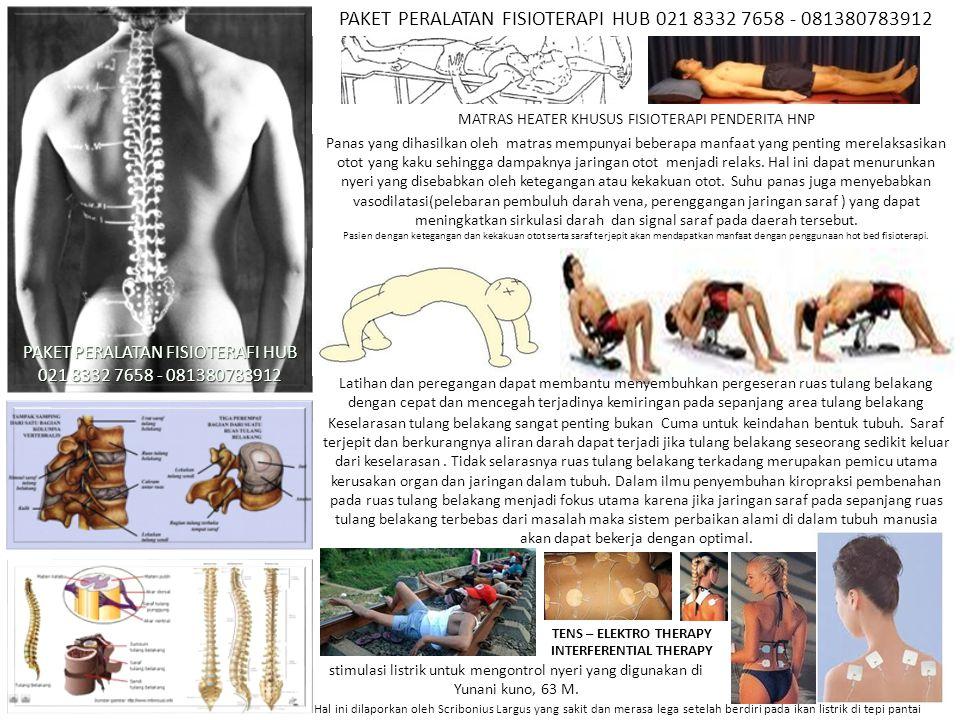 MATRAS HEATER KHUSUS FISIOTERAPI PENDERITA HNP Panas yang dihasilkan oleh matras mempunyai beberapa manfaat yang penting merelaksasikan otot yang kaku