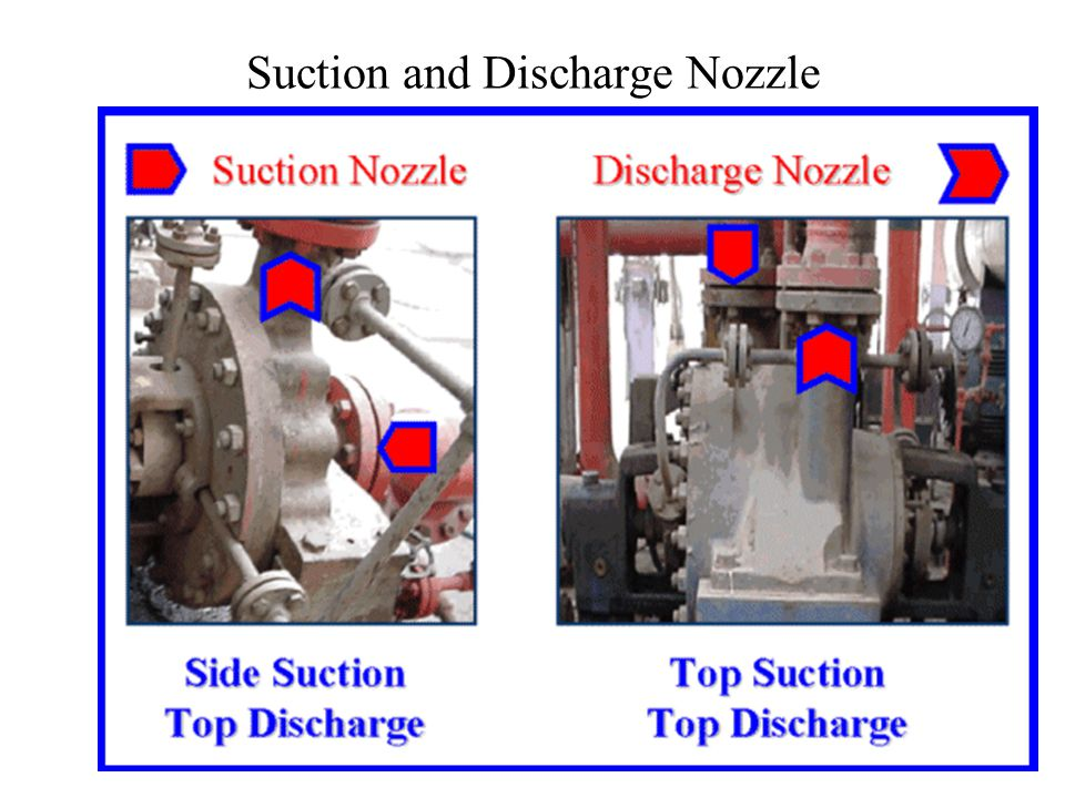 Suction and Discharge Nozzle