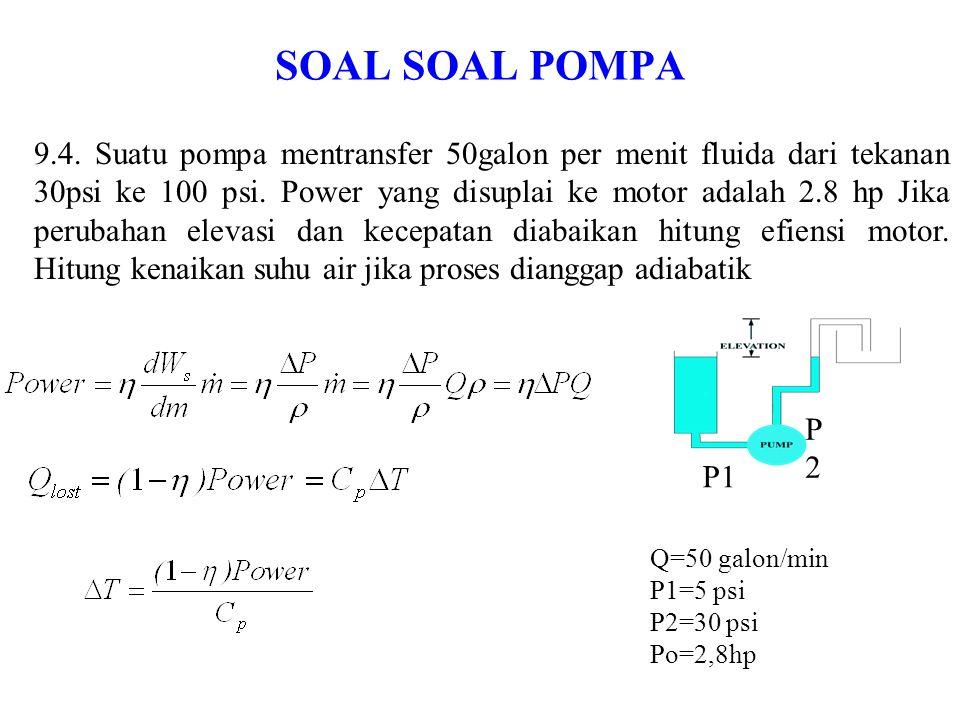 Soal soal Pompa 9.5.