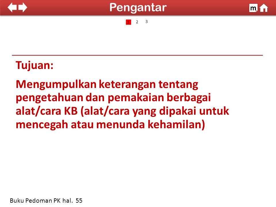 100% SDKI 2012 IUD (Intrauterine Device) m Buku Pedoman PK hal.