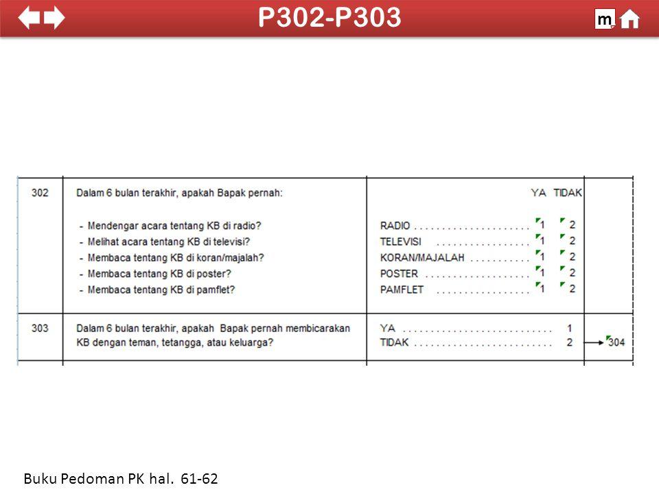 100% P302-P303 m Buku Pedoman PK hal. 61-62