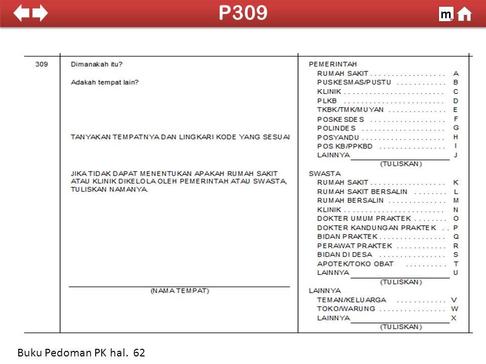 100% SDKI 2012 P309 m Buku Pedoman PK hal. 62