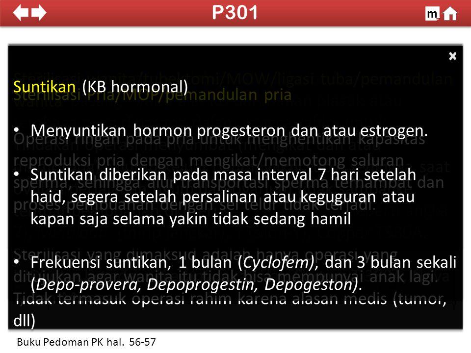 100% SDKI 2012 Pil KB m Buku Pedoman PK hal. 58 PILKAB Yasmin Pil KB I Kombinasi