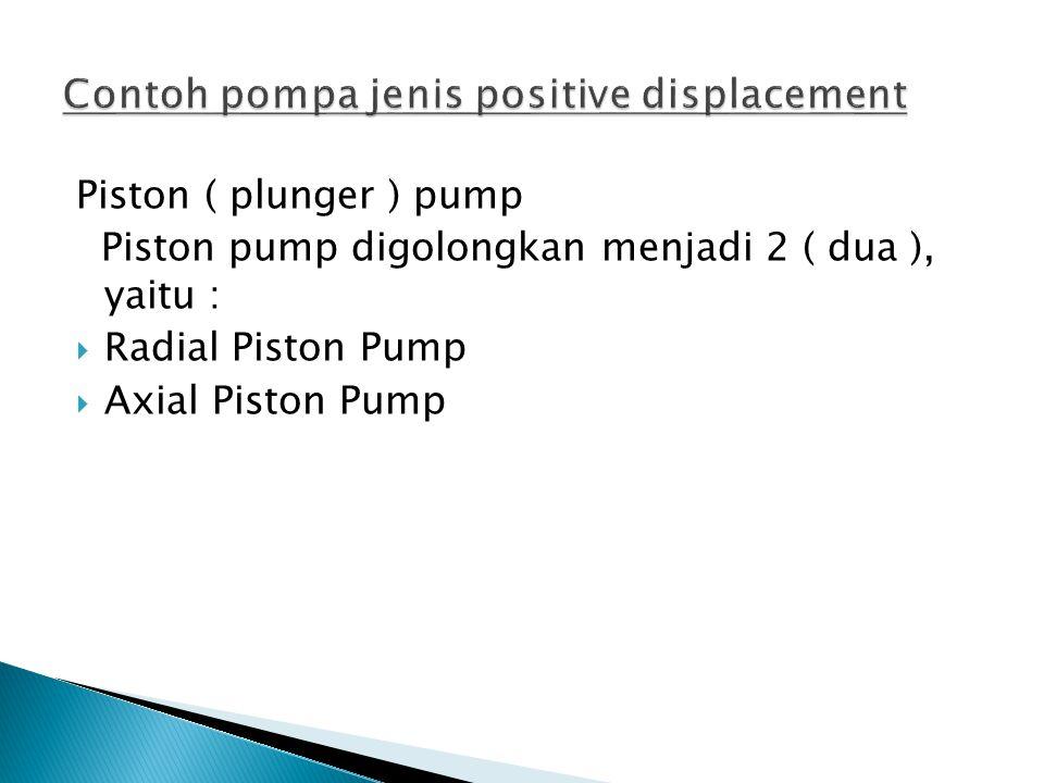  Fungsi pompa hidrolik ialah memindahkan fluida dari suatu tempat lain.