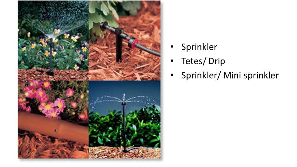 Sprinkler Tetes/ Drip Sprinkler/ Mini sprinkler