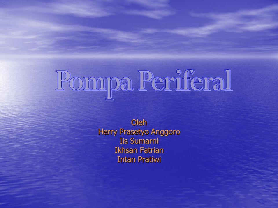 Apa itu Pompa Periferal.