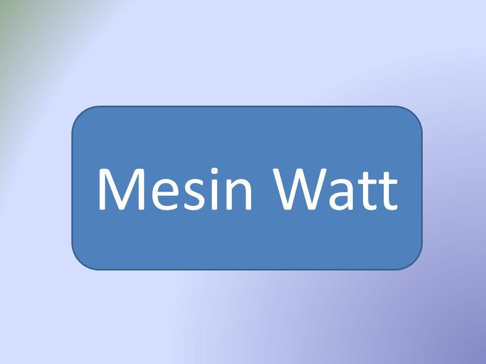 Mesin Watt