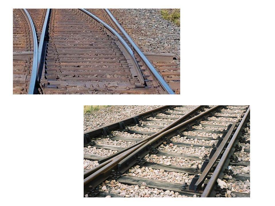 Cara Kerja Wesel Kereta api berjalan mengikuti rel, sehingga kalau relnya digeser maka kereta api juga mengikutinya.