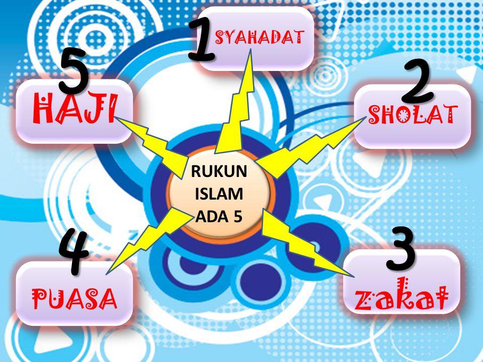 APA-SIH RUKUN ISLAM ITU?? RUKUN ISLAM ADALAH… ( JRENG..JRENG… ) Pokok pokok ajaran islam start