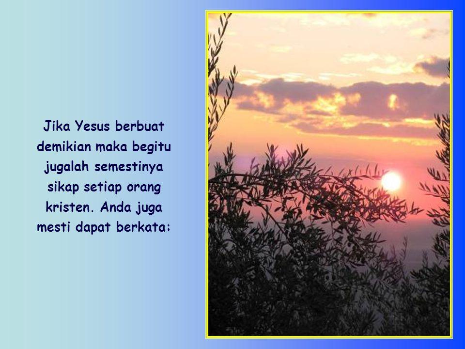 Orang kristen dan semua orang yang berkehendak baik, dipanggil untuk berjalan menuju Matahari dengan mengikuti sinar matahari atas dirinya, yang berbeda dari sinar atas diri orang lain.