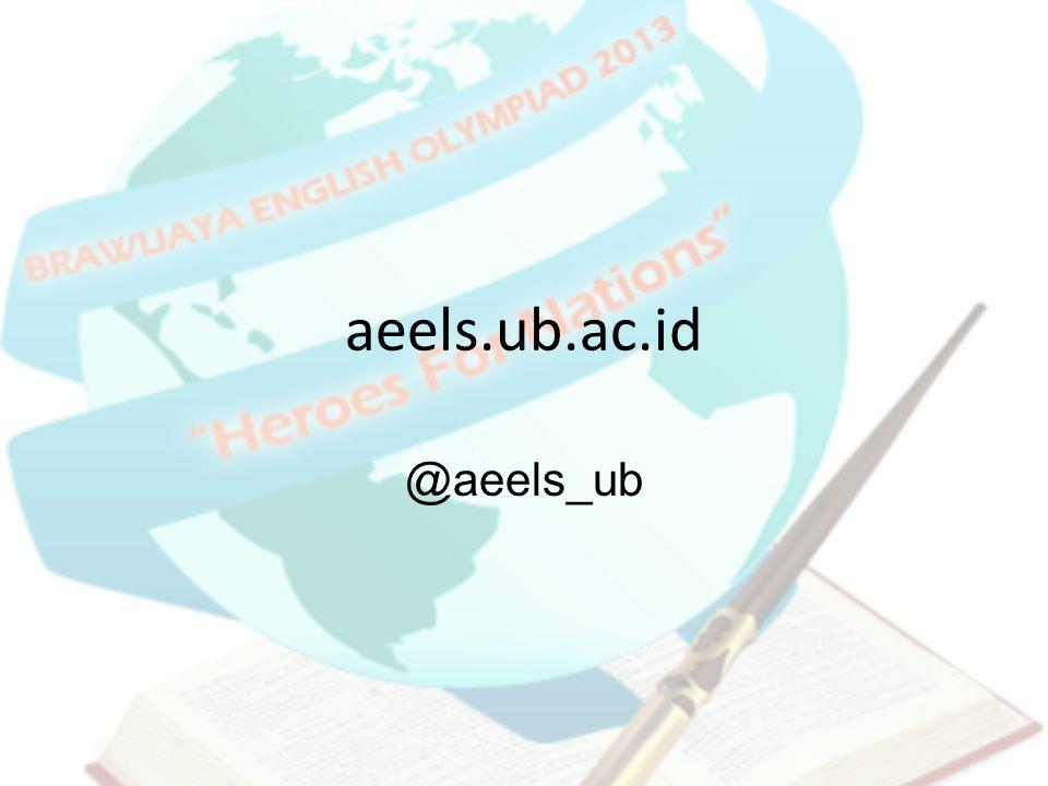 aeels.ub.ac.id @aeels_ub