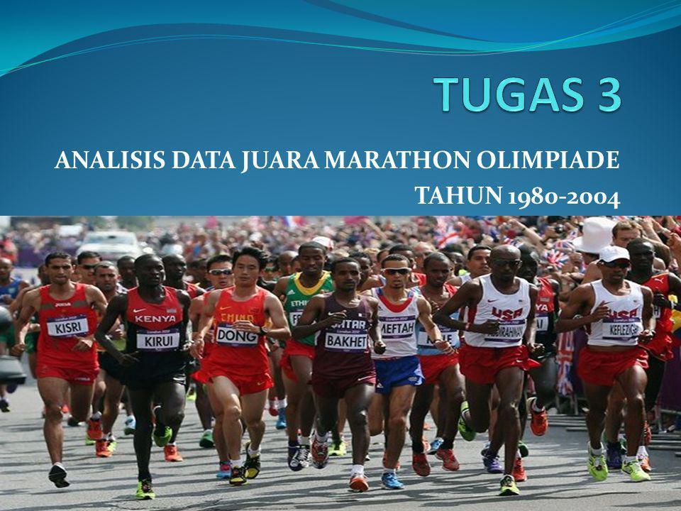 SEJARAH MARATON Maraton merupakan cabang atletik tertua dalam sejarah Olimpiade kuno.