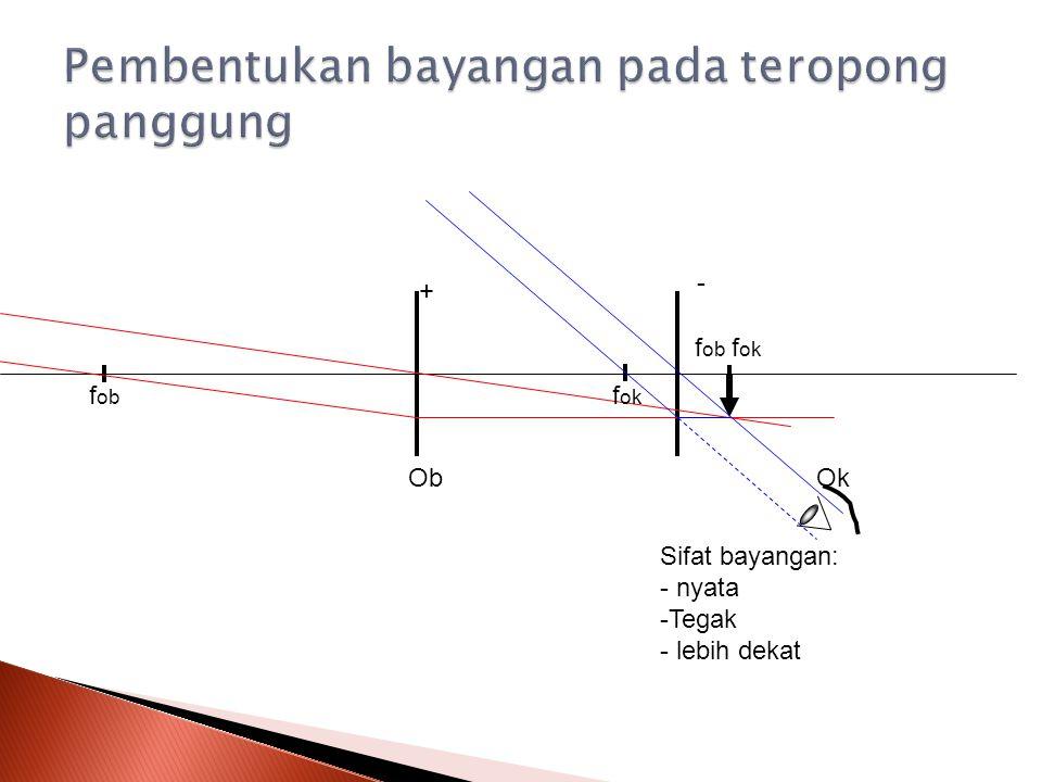 Teropong panggung atau galileo merupakan teropong bumi tanpa lensa pembalik.