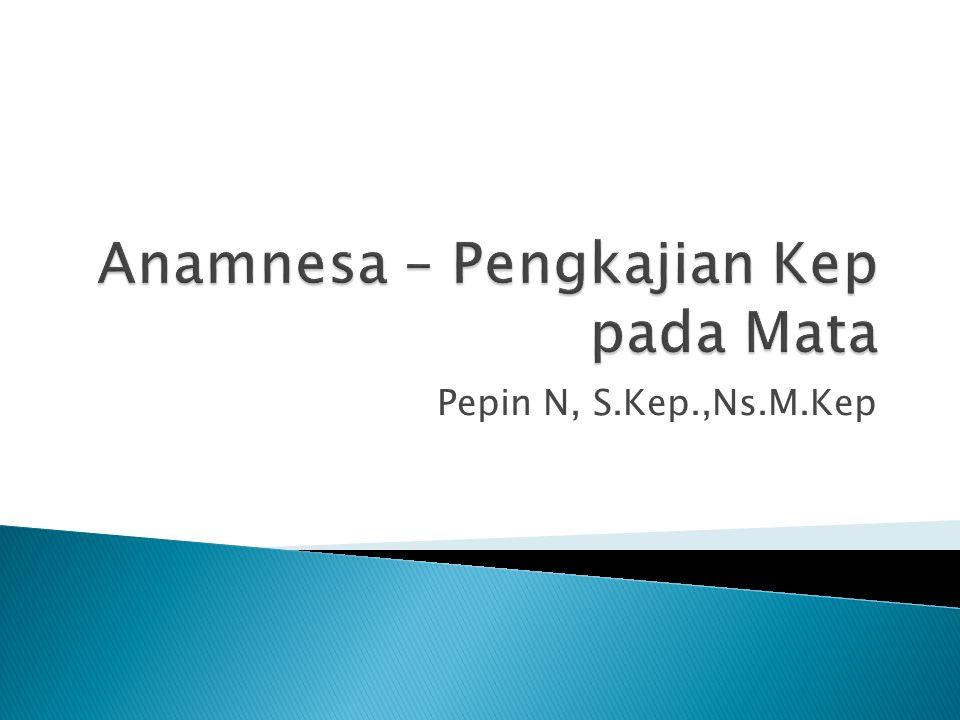 Pepin N, S.Kep.,Ns.M.Kep