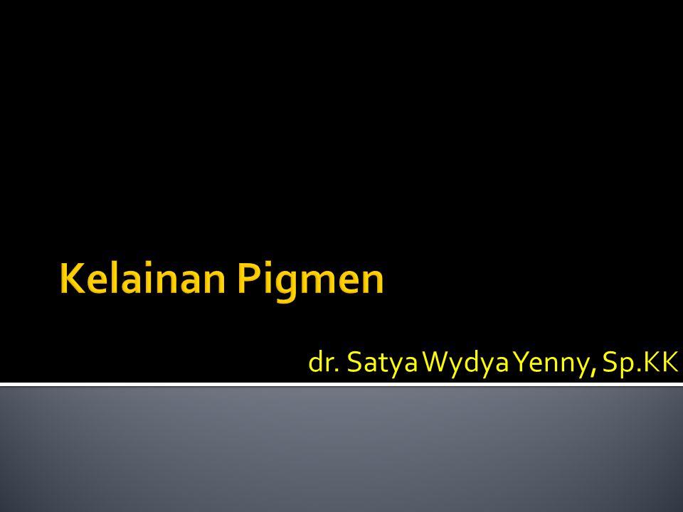 dr. Satya Wydya Yenny, Sp.KK