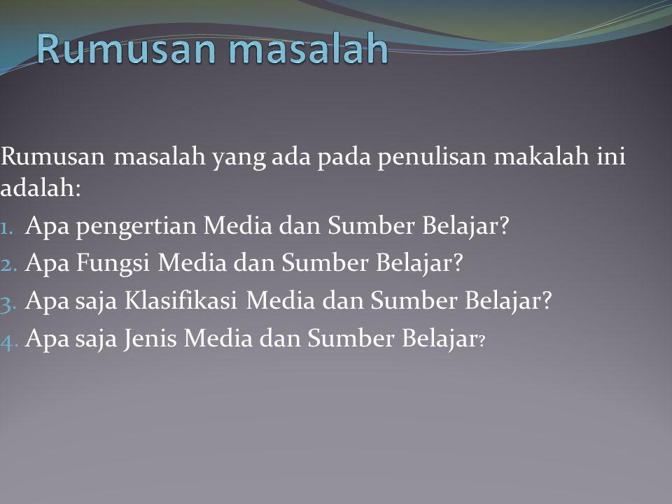 Media berasal dari bahasa Latin yang merupakan bentuk jamak dari kata medium yang secara harfiah berarti perantara atau pengantar , yakni perantara atau pengantar sumber pesan dengan penerima pesan.