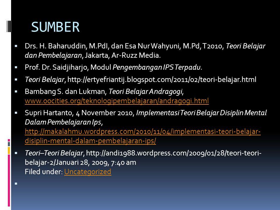 SUMBER  Drs.H.
