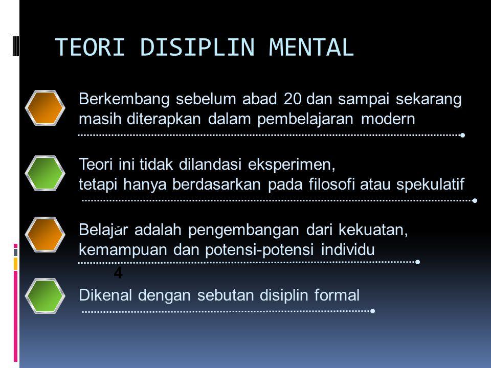 KELEBIHAN TEORI BEHAVIORISME  Mampu membentuk suatu perilaku yang diinginkan mendapatkan penguatan positif dan perilaku yang kurang sesuai mendapat penghargaan negatif, yang didasari pada perilaku yang tampak.